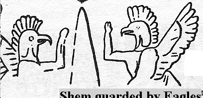 6 - shem guarded by winged eagles, pilots today have their eagle wings