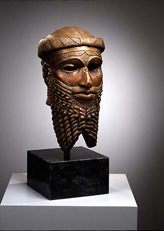 18 - Lugal-zage-si bronze bust, long forgotten offspring of the gods