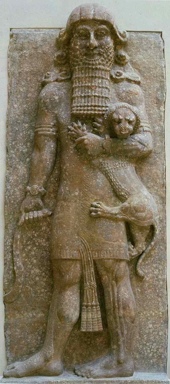 6 - Gilgamesh, early mixed-breed king of Uruk, unpopular by the people